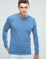 United Colors Of Benetton Merino Wool Crew Jumper