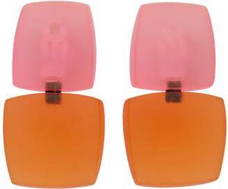 Monies Jewellery Pink and Orange Izzy Earrings
