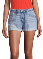 Frame Le Grand Garcon Cuffed Denim Shorts