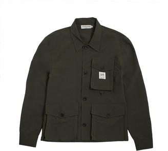 Hermanos Koumori Olive Green Chore Coat