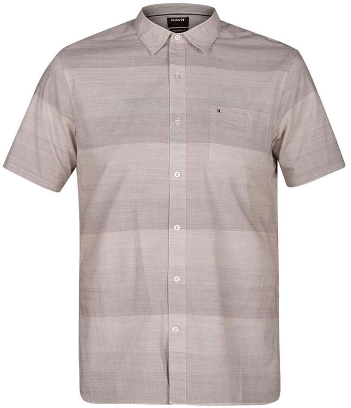Hurley Men's Morris Ombré Stripe Shirt