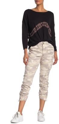 Democracy High Rise Camo Ab Tech Jeans
