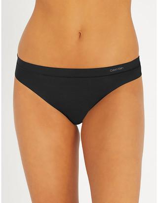 Calvin Klein Form stretch-jersey thong