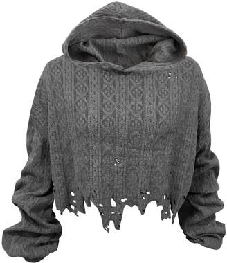 Delayne Dixon Distressed Knit Sweater