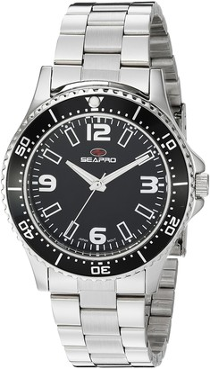Seapro Women's SP5411 Tideway Analog Display Quartz Silver Watch