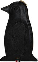 Thom Browne Black Penguin Pouch