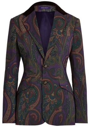 Ralph Lauren Erica Paisley Jacket