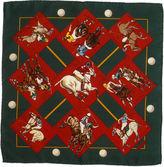 One Kings Lane Vintage Hermès Le Monde Du Polo Pochette Scarf