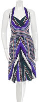 Peter Pilotto Silk Abstract Print Dress w/ Tags