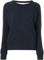 Humanoid crew neck jumper
