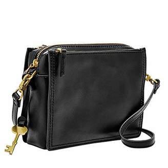 Fossil Women's Campbell Leather Crossbody Handbag