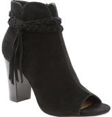 XOXO Women's Belina Peep-Toe Ankle Boot
