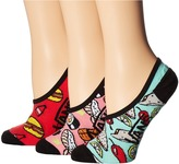 Vans Munchies Canoodles 3-Pair Pack Women's Crew Cut Socks Shoes