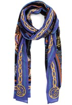 Juicy Couture Romanov Floral Novelty Scarf