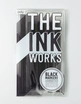 American Eagle Outfitters The Ink Works Black Marker Set