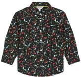 Wallis **Boys Black Long Sleeve Shirt (18 months - 6 years)