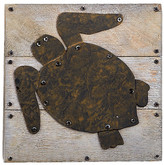 Mud Pie Turtle Plaque