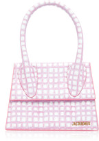 Jacquemus Le Grand Chiquito Checked Leather Bag