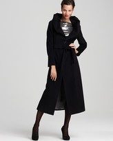 Premium Belted Coat with Hood