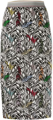 Missoni Abstract-Print Fitted Skirt