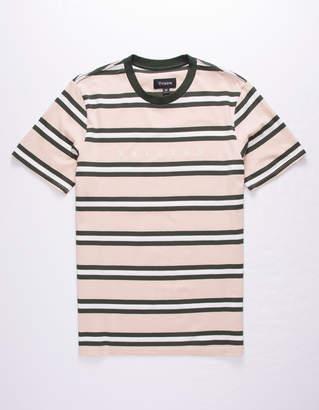 Brixton Hilt Cream Mens T-Shirt