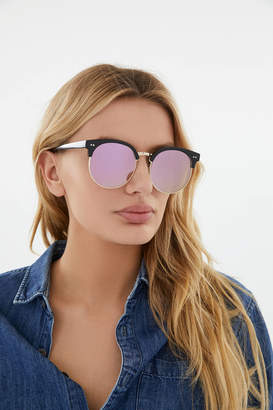 Urban Outfitters Carter Half-Frame Sunglasses