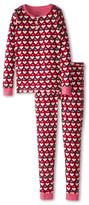 Hatley Lots Of Hearts Henley PJ Set (Toddler/Little Kids/Big Kids)