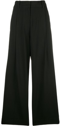 3.1 Phillip Lim Wide-Leg Cropped Trousers