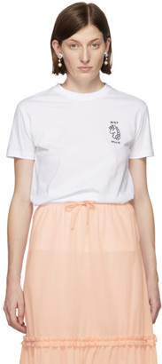 Miu Miu White Unicorn T-Shirt