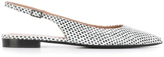 Philosophy di Lorenzo Serafini Sling-Back Pointed Ballerinas