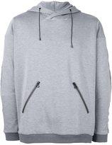 Oamc zip pocket hoodie