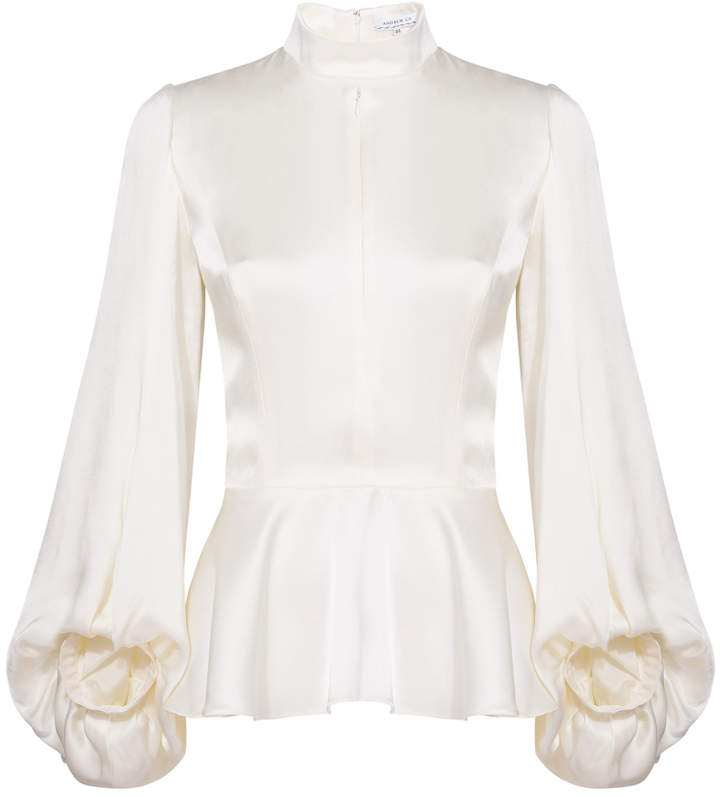 Andrew Gn High Neck Top