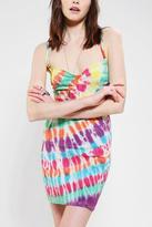 Urban Outfitters OBEY Trouble Maker Tie-Dye Bodycon Dress