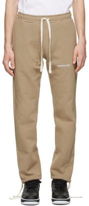 Saintwoods Beige Fleece Lounge Pants