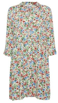 Dorothy Perkins Womens Only Multi Colour Floral Print Shirt Dress