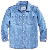 Rails Girls' Mini Hearts Chambray Shirt - Little Kid, Big Kid