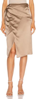 Cinq à Sept Mya Skirt in Pewter | FWRD