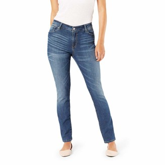 Signature by Levi Strauss & Co. Gold Label Women's Plus Modern Straight Jeans