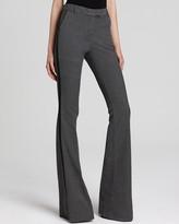Denim Pants - Hutton Flare in Faded Black