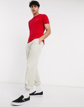 Columbia Nostromo Ridge short sleeve t-shirt in red