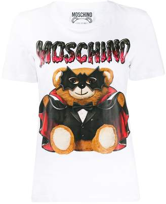 Moschino Bat Teddy Bear print T-shirt