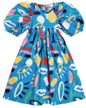 Stella McCartney Cotton Abstract Print Dress