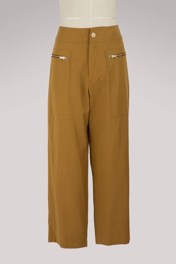 Vanessa Bruno Laka cotton pants