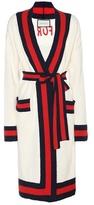 Gucci Embellished cotton-blend cardigan