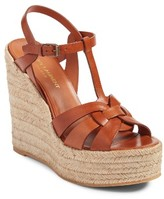Saint Laurent Women's Tribute Espadrille Wedge