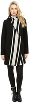 Vince Camuto Cascading Wool Coat L8271