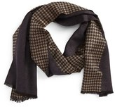 Canali Men's Silk & Cashmere Reversible Scarf