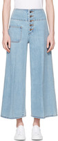 Marc Jacobs Indigo Wide-leg Jeans
