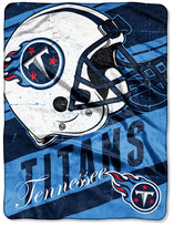 Northwest Company Tennessee Titans Micro Raschel Deep Slant Blanket