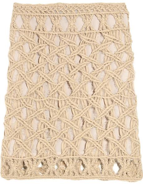 Rag and Bone Rag & bone Pelham crocheted silk skirt